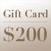 Gift Card – $200